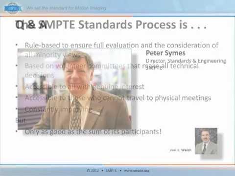 SMPTE Standards 101