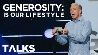 GENEROSITY: Is Our Lifestyle [How To Be Blessed] | Pastor Steve Boyce