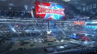 Download Video A peek inside AT&T Stadium to see WrestleMania 32's set construction: SmackDown, Mar. 31, 2016 MP3 3GP MP4