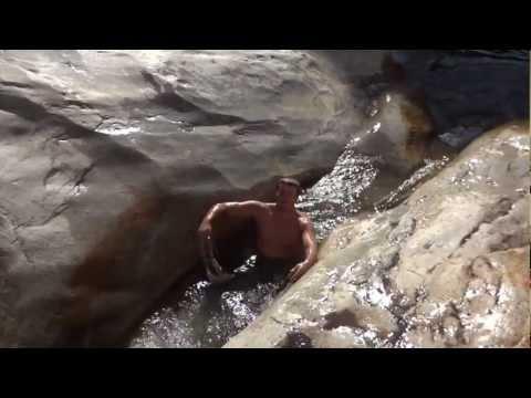 Fry Mesa, Natural Waterslides
