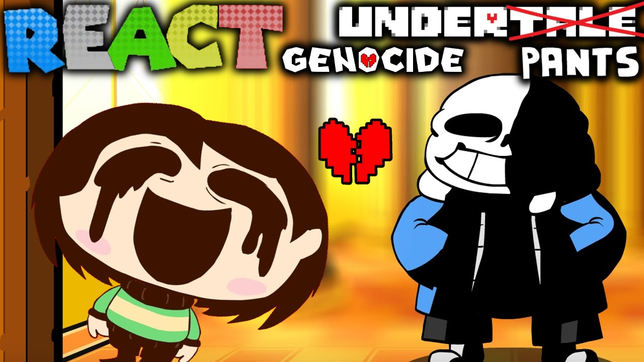 LUIGIKID REACTS TO: UNDERPANTS GENOCIDE ENDING by SR PELO