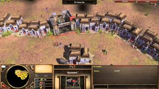 Age of Empires 3 Asian Dynasties - India - Mission 4 - Raid in Delhi