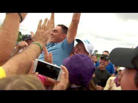 Rickie Fowler's $1 million ace at Els For Autism event