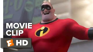 Incredibles 2 Movie Clip - The Underminer Has Escaped (2018) | Movieclips Coming Soon