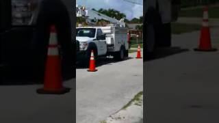 Hialeah Man Shoots Tires Of AT&T Trucks