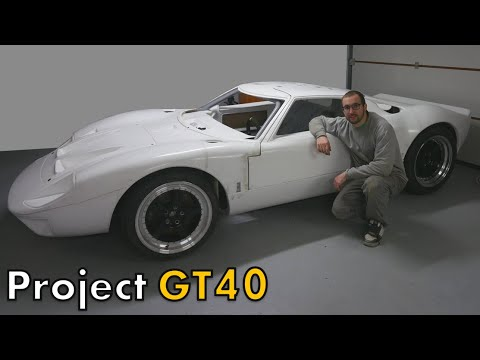 MA GT40 EST SUR SES ROUES ! [GT40 project #38] from YouTube · Duration:  15 minutes 17 seconds