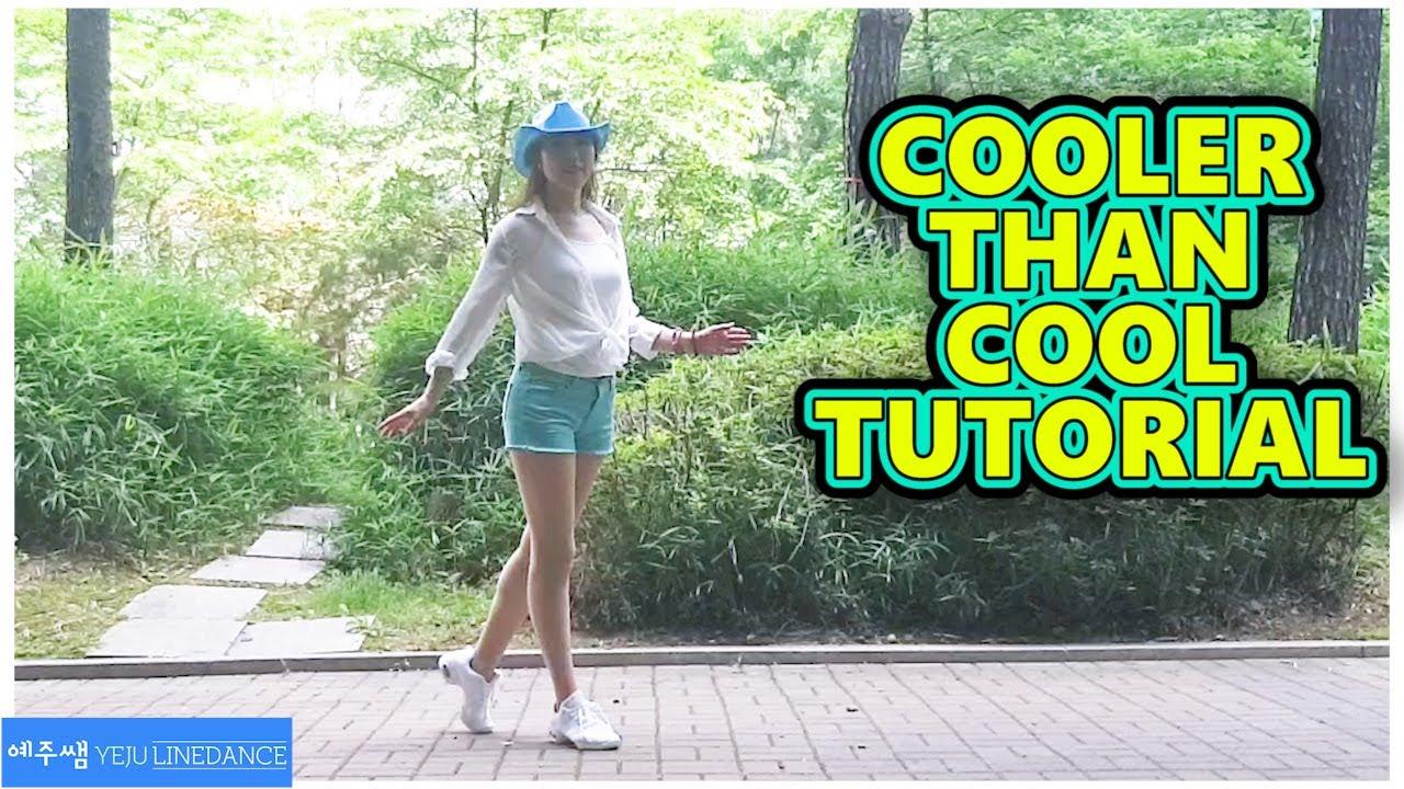 [예주쌤라인댄스]Cooler Than Cool Line Dance Tutorial