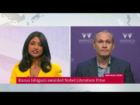 David Vann discusses Kazuo Ishiguro being awarded the Nobel Prize in Literature