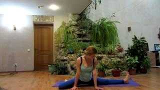 Эффективная растяжка на шпагат за 10 минут  Stretching the splits(Сесть на шпагат в домашних условиях - абсолютно реальная задача для любого человека! как сесть на шпагат,..., 2015-03-15T15:53:58.000Z)