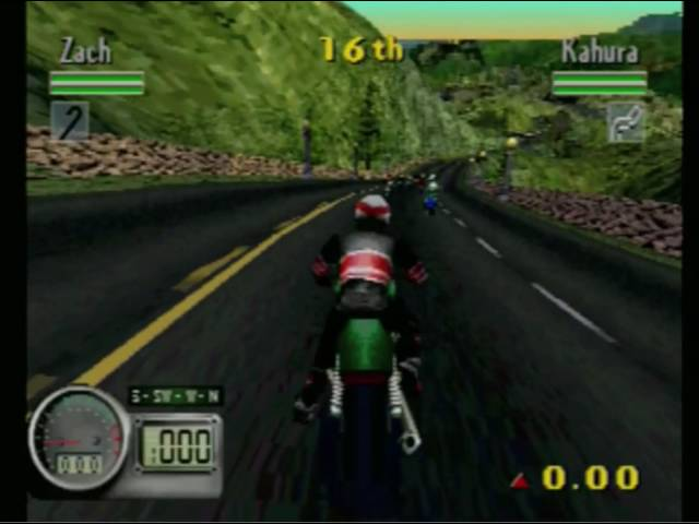 Road Rash 3D (Playstation) Gameplay