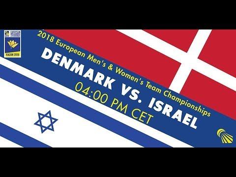 2018 EMTC Denmark - Israel (Court 3)