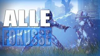 """Destiny 2 - Alle 9 """"neuen"""" Fokusse und Fähigkeiten German"""