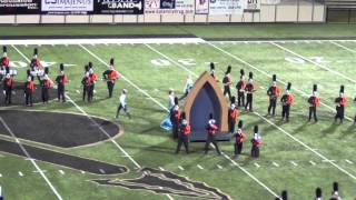 Coweta Tiger Pride Marching Band, 2015 Broken Arrow Invitational