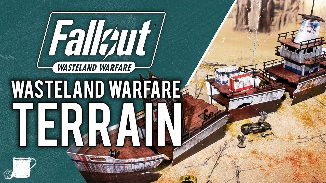 Amazing Terrain Pieces For Fallout Wasteland Warfare // Tabletop Hub