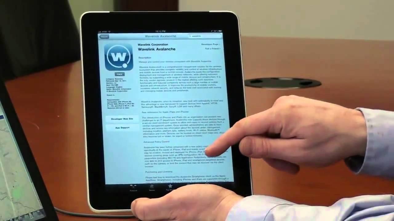 Wavelink Tablet and Smartphone Management - Part 1 - Client Download