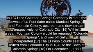 Colorado Springs - Facts, History, Economy