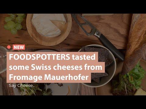Foodspotters tasted Swiss Cheeses & Vegan Wine