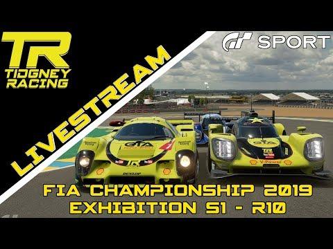 [GT Sport Livestream] - Top 16 Superstars || FIA 2019 Exhibition Season 1 - R10 thumbnail