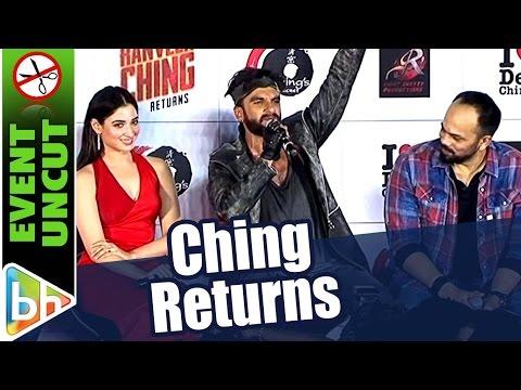 Ranveer Ching Returns   A Rohit Shetty Film   Ranveer Singh   Tamannaah   Premiere   Event Uncut