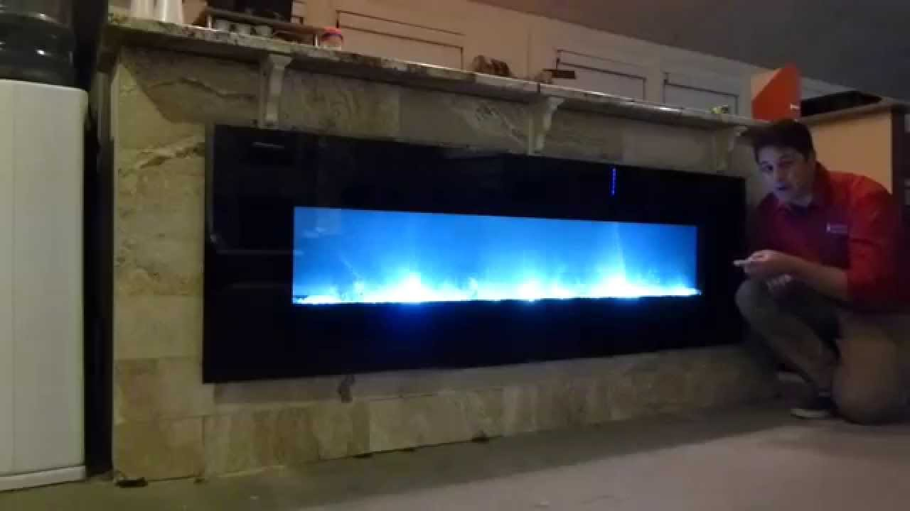 modern flame electric fireplaces product reivews youtube