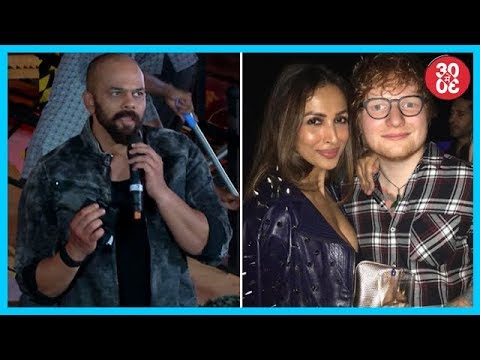 Rohit Shetty On Clash With SRK's Dwarf Film & 'Kedarnath' | Ed Sheeran On Doing A Film With SRK
