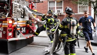 **Pre-Arrival 10-75** [ Manhattan Box 1203 ] All-Hands Fire in 4th Floor Apartment