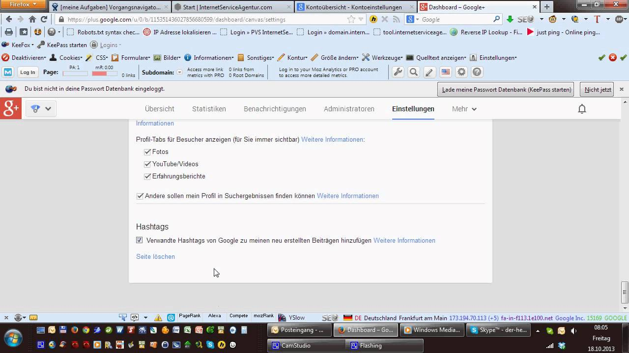 Google Plus Löschen