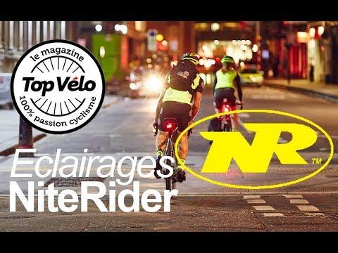 Image de la vidéo Essai éclairages vélo NiteRider : Voir et être vu !