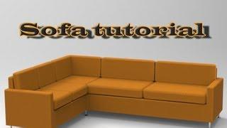 Sketchup Sofa Tutorial