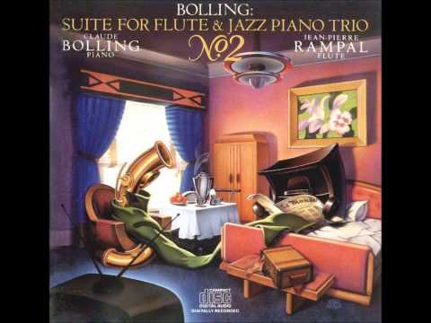 Claude Bolling - Suite No 2 For Flute & Jazz Piano Trio - Jazzy