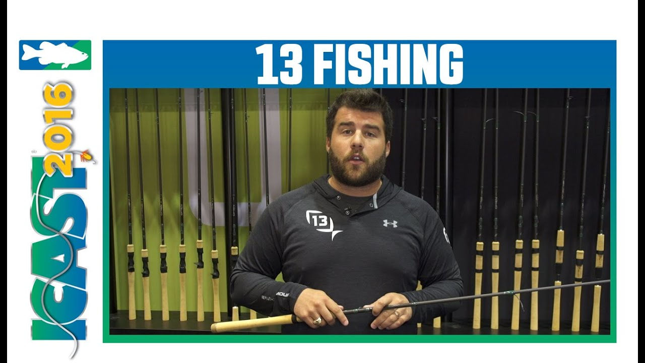 13 fishing omen green rods with ricky teschendorf icast for 13 fishing omen green