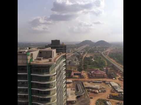 Drone flight over WTC Abuja