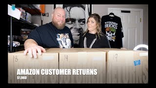 I bought a $1,960 Amazon Customer Returns Pallet w/ Mystery Boxes + SHOCKING ITEM FOUND AGAIN