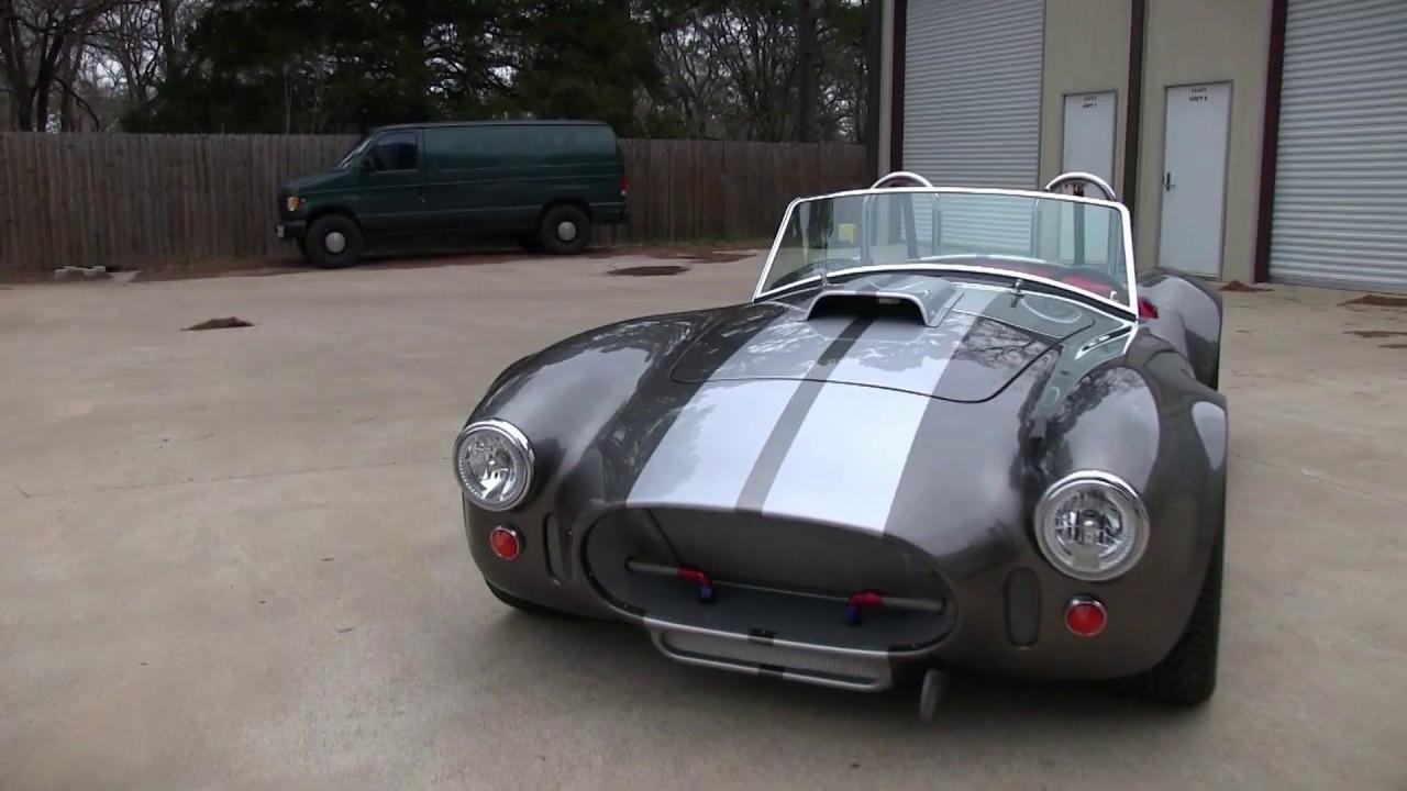 Cobra Kit Car >> 1966 Cobra Kit Car Youtube