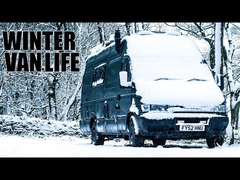 Living In A Van During Winter... Lost In Europe //196