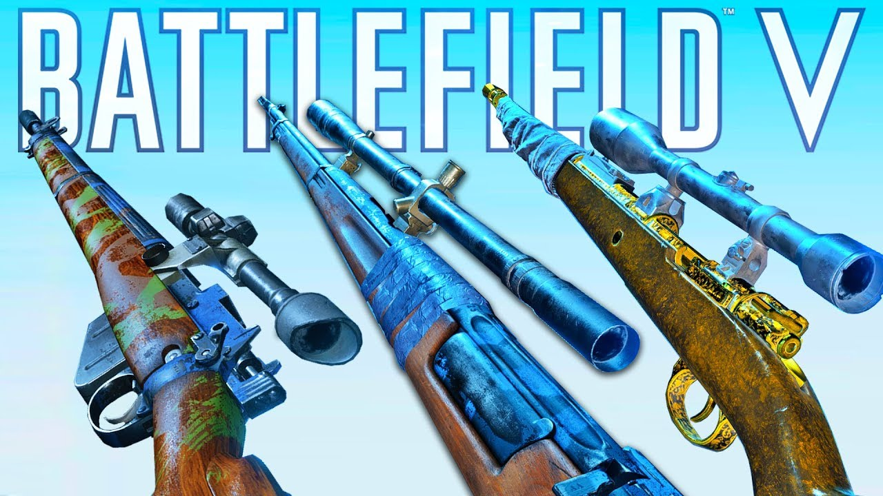 Best Sniper Loadouts + Specialisations Guide Battlefield 5