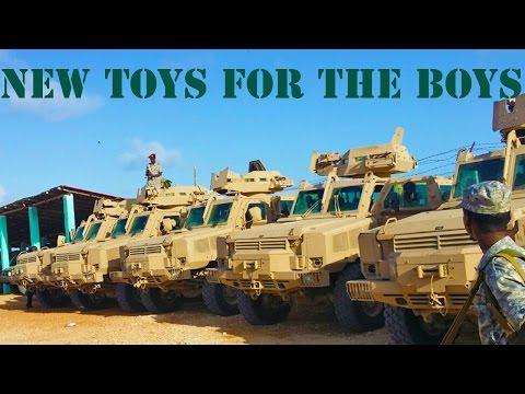 Welcome To Somalia - MRAP (Mine Resistant Ambush Protected) Vehicles