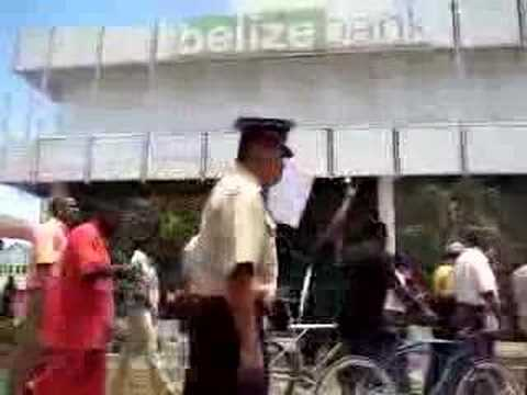 Belize Protest Against Lord Ashcroft