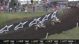 MXGP of Germany 2017 Thomas Kjer Olsen Crash at qualifying race