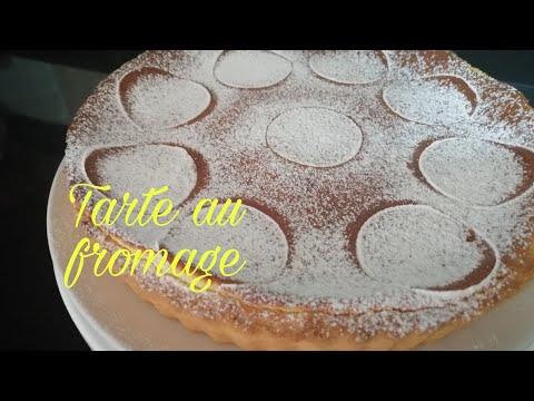 طارط-بكريمة-الجبن-والحامض؛-لذيذة-tarte-au-fromage-وسهلة-التحضير😍