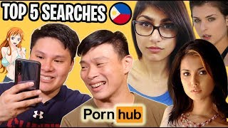 TOP 5 SEARCHES NG MGA PINOY SA P*RNHUB!!! OMG!