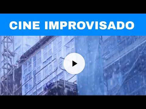 Cine improvisado en Lugo: la nieve, fuente de inspiración