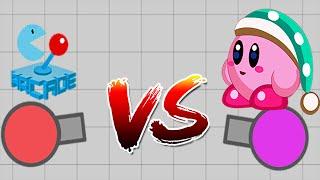 Diep.io: ToonFirst Vs Arcadego - SandBox Epic Battle #1