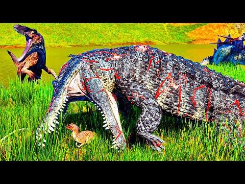 Download The Isle - Dupla de Utahraptor, Disputando Carcaça Com Deinosuchus PT/BR 43