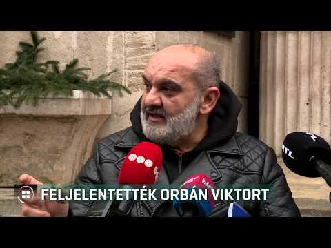 Feljelentették Orbán Viktort 20-01-17