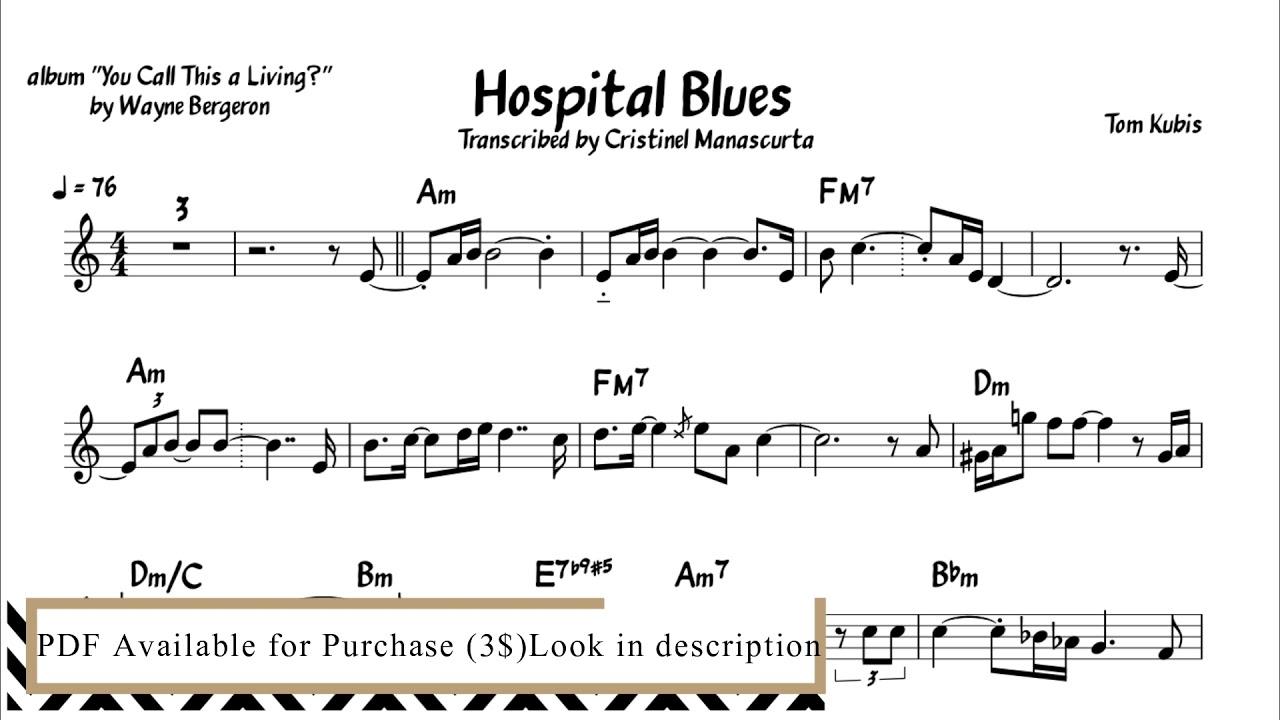 Hospital Blues - Wayne Bergeron (transcription)
