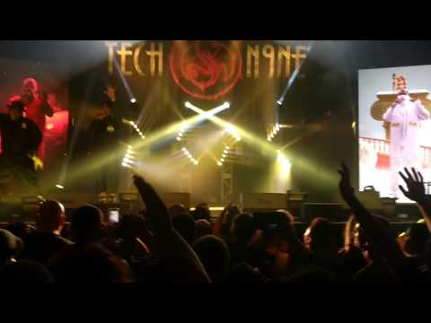 Tech N9ne and Krizz Kaliko No No's @UC Berkeley Theater