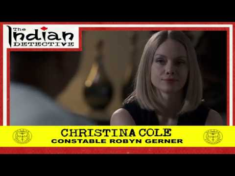 The Indian Detective  Christina Cole as Robyn Gerner  Trading Card  215