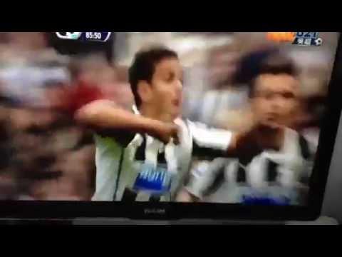BEN ARFA'S goal Newcastle vs Fulham