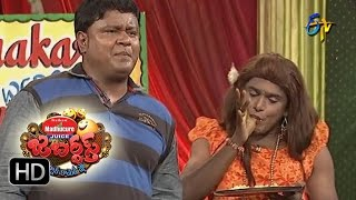 Jabardasth - BulletBhaskarSunamiSudhakarPerformance - 14th July 2016 - జబర్దస్త్